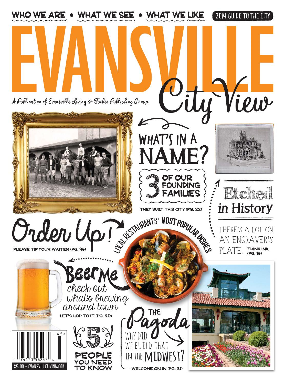 Evansville city view 2014 by evansville living magazine issuu fandeluxe Image collections