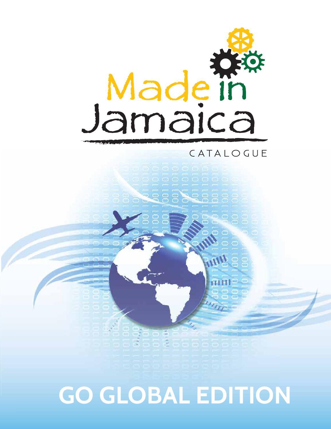 Made in Jamaica Catalogue GO GLOBAL by Deika Morrison - issuu