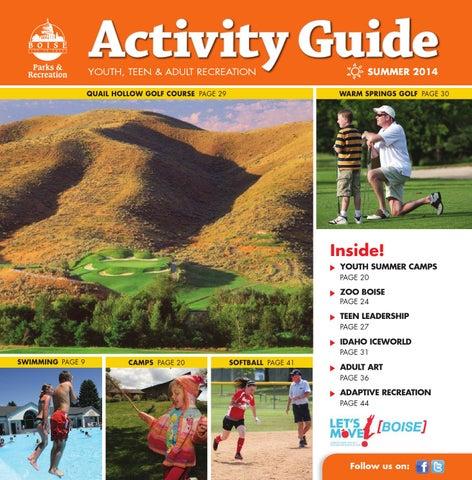 57360b321179f Boise Parks   Recreation Summer 2014 Activity Guide by Boise Parks ...