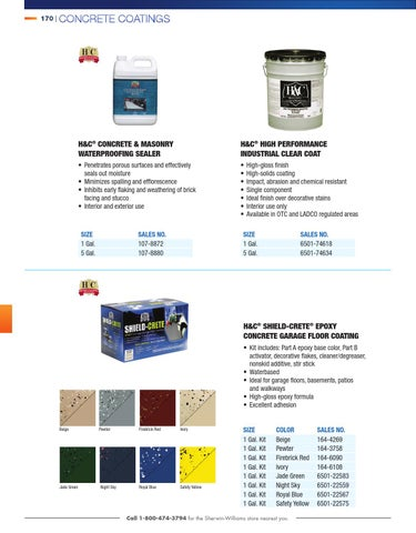 Contractor Catalog 2014 By Sherwin Williams Issuu