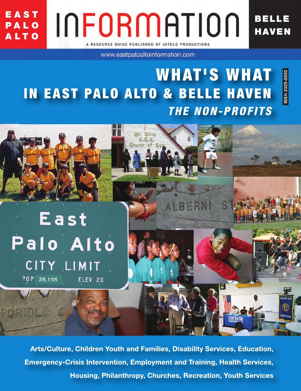 East Palo Alto Belle Haven Information 2014 By Jatelo Productions