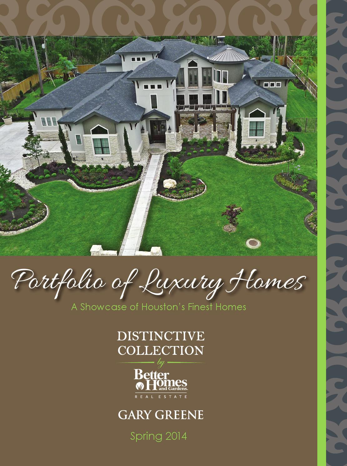 Portfolio Of Luxury Homes Spring 2014 By Better Homes And Gardens Real Estate Gary Greene Issuu