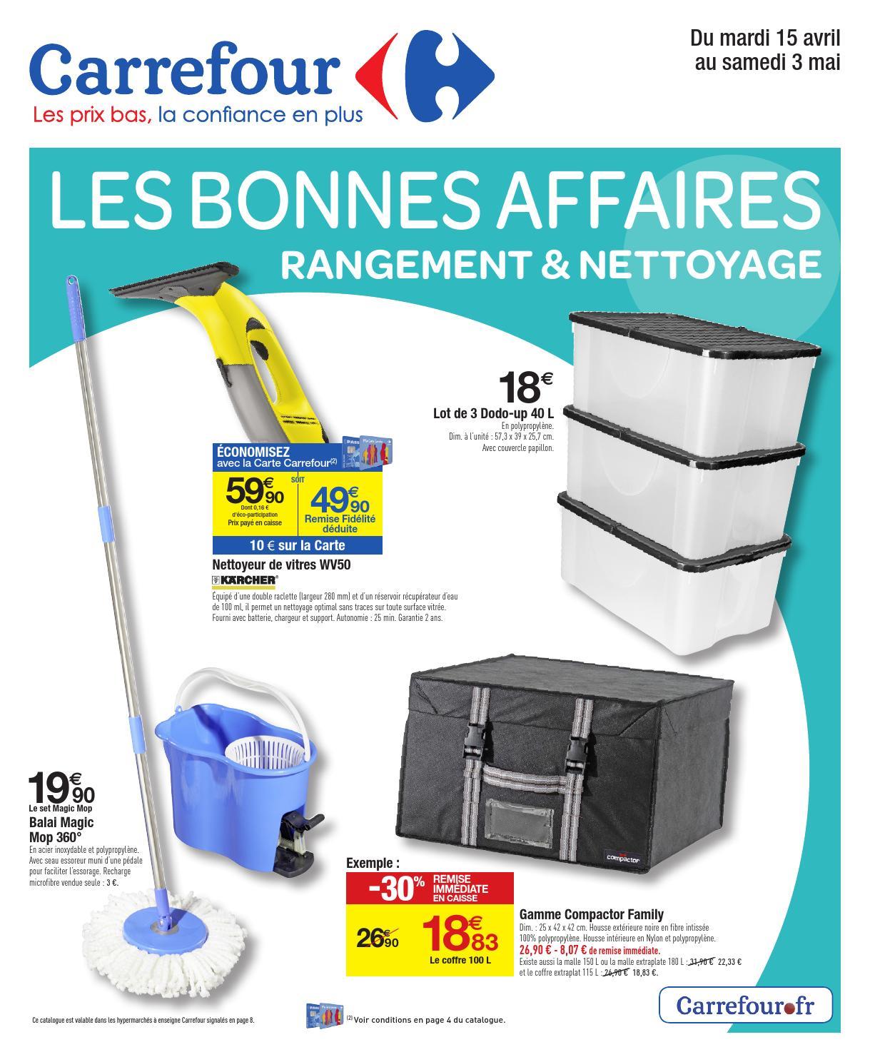 Cd De Nettoyage Carrefour