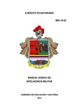 Baixar manual de inteligencia militar pdf pdf download | manual de.