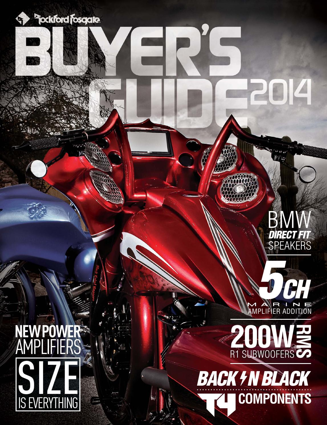 2014 VOLUME 6 0 Buyer's Guide by Rockford Fosgate - issuu