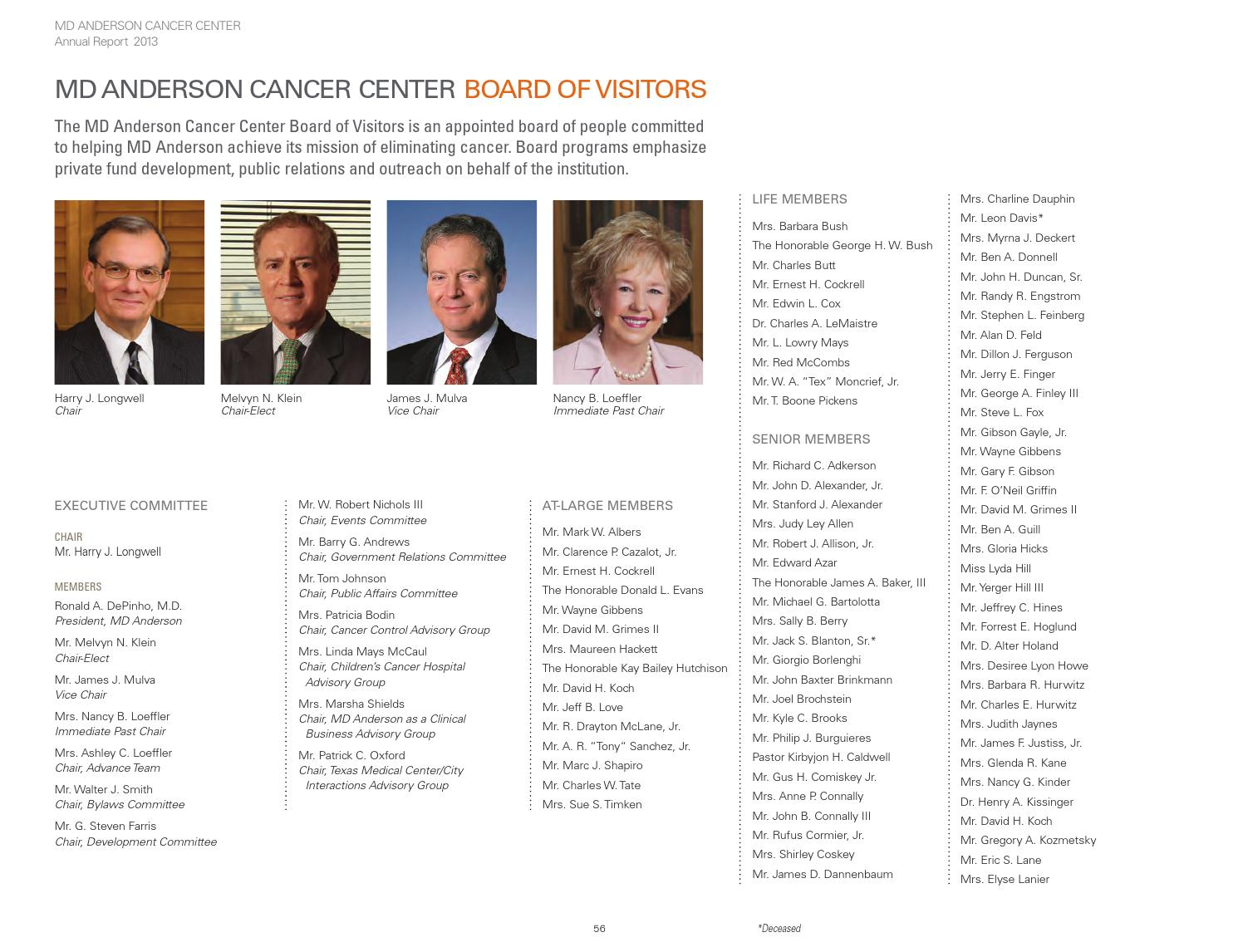 MD Anderson Annual Report 2012-2013 by MD Anderson Cancer
