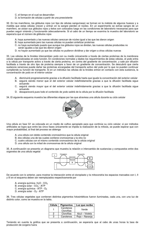 Pruebas de Biología Tipo ICFES by Pedro Soto - issuu