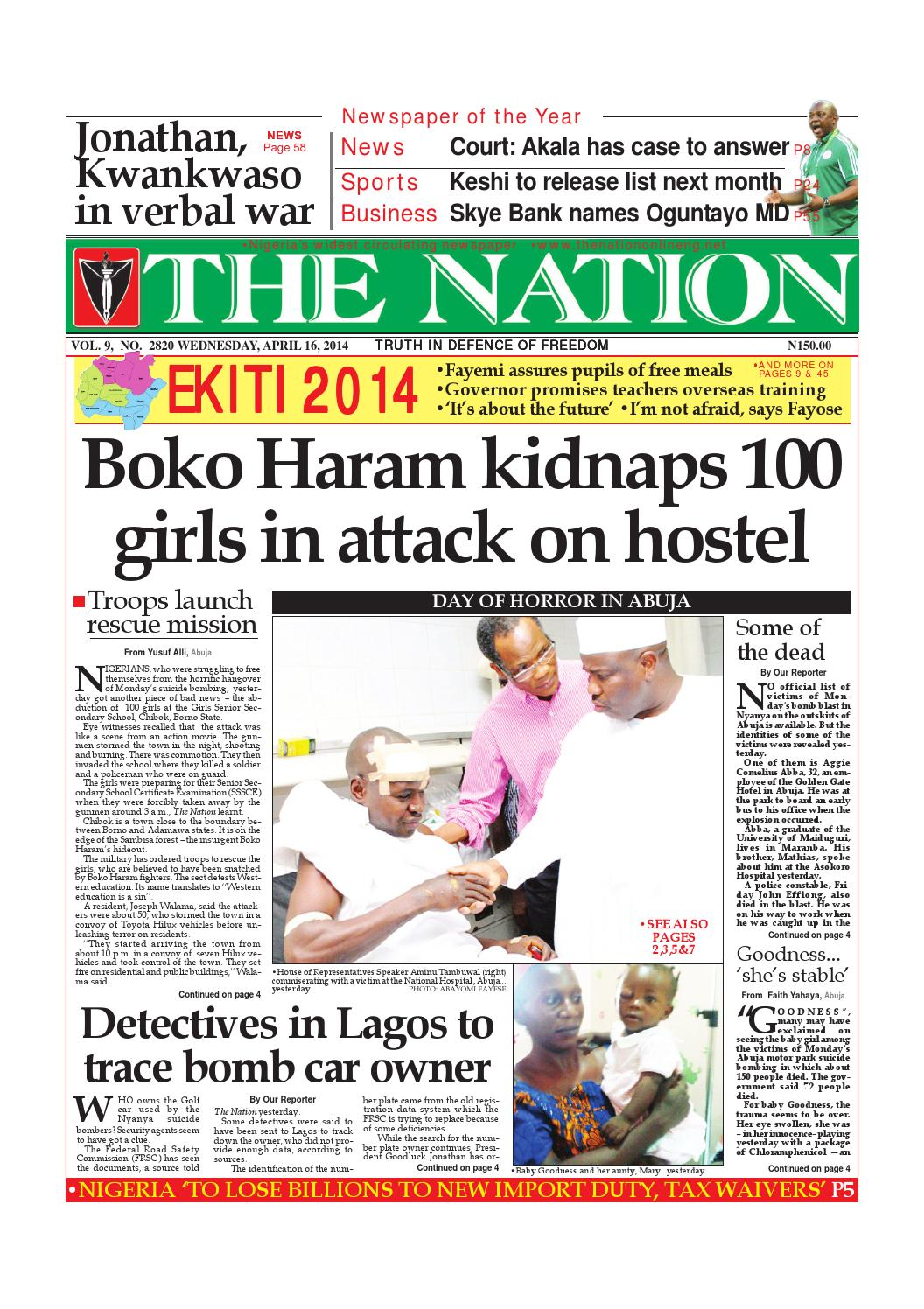 The Nation April 16 2014 By The Nation Issuu