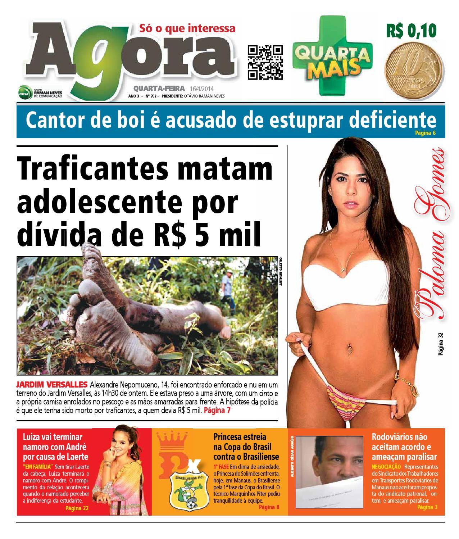 8ef19d736 Agora - 16 de abril de 2014 by Amazonas Em Tempo - issuu