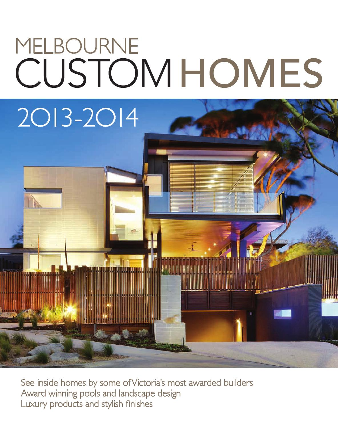 2014 Master Builders Victoria Winning Homes Magazine by ark:media - issuu