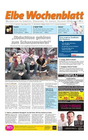 Elbe Wochenblatt W OCHENZEITUNG. FÜR