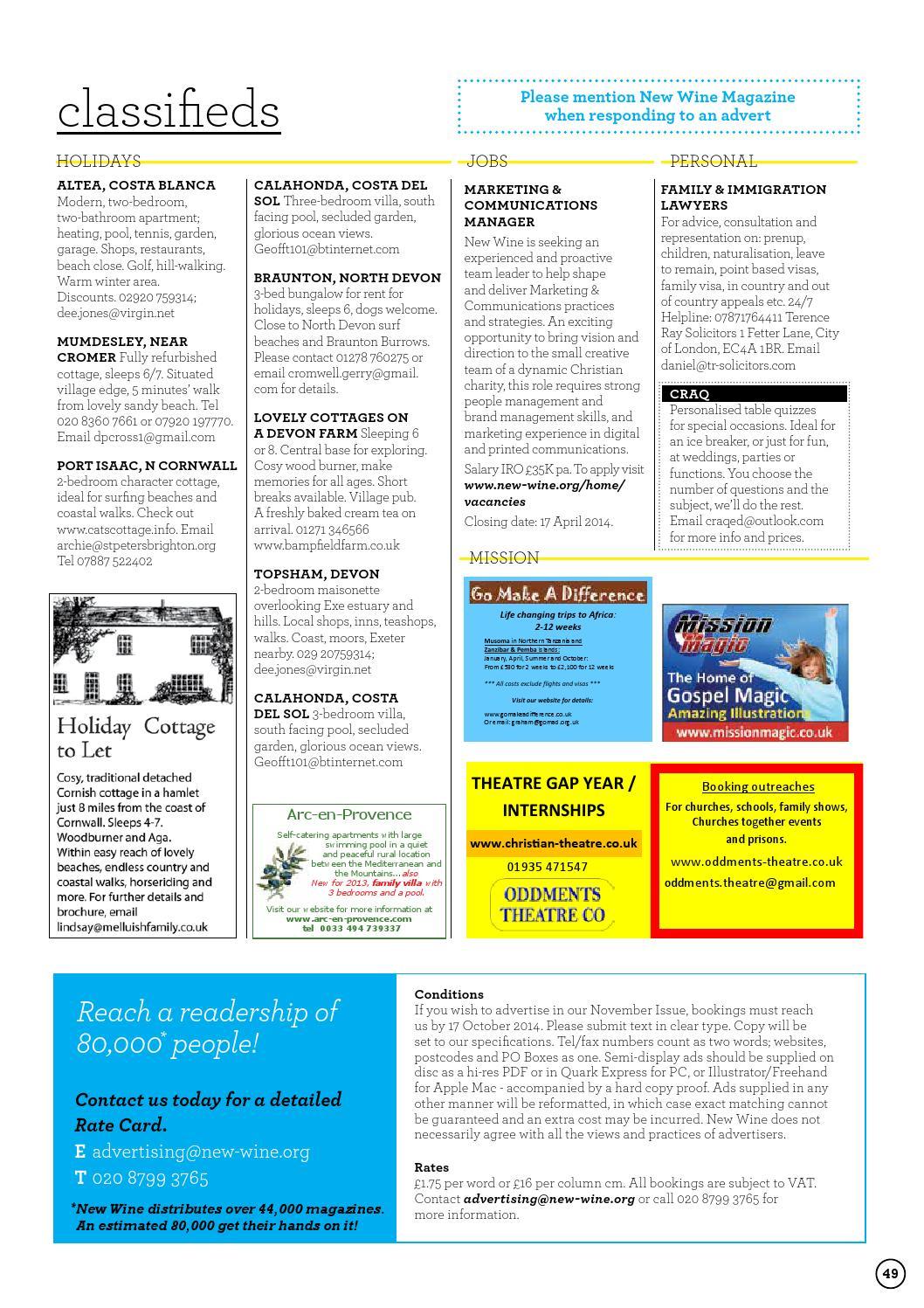 New Wine Magazine - Issue 60 - Spring 2014 by New Wine - issuu