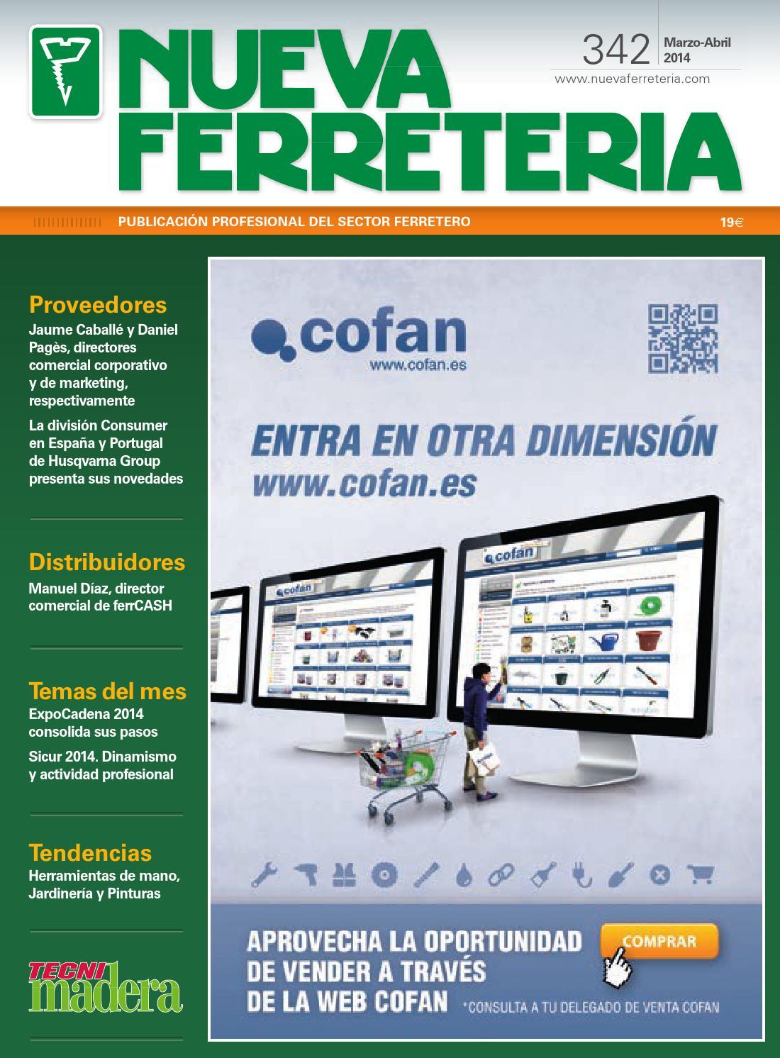 Nueva Ferretería nº 342 by Digital Newspapers S.L. - issuu