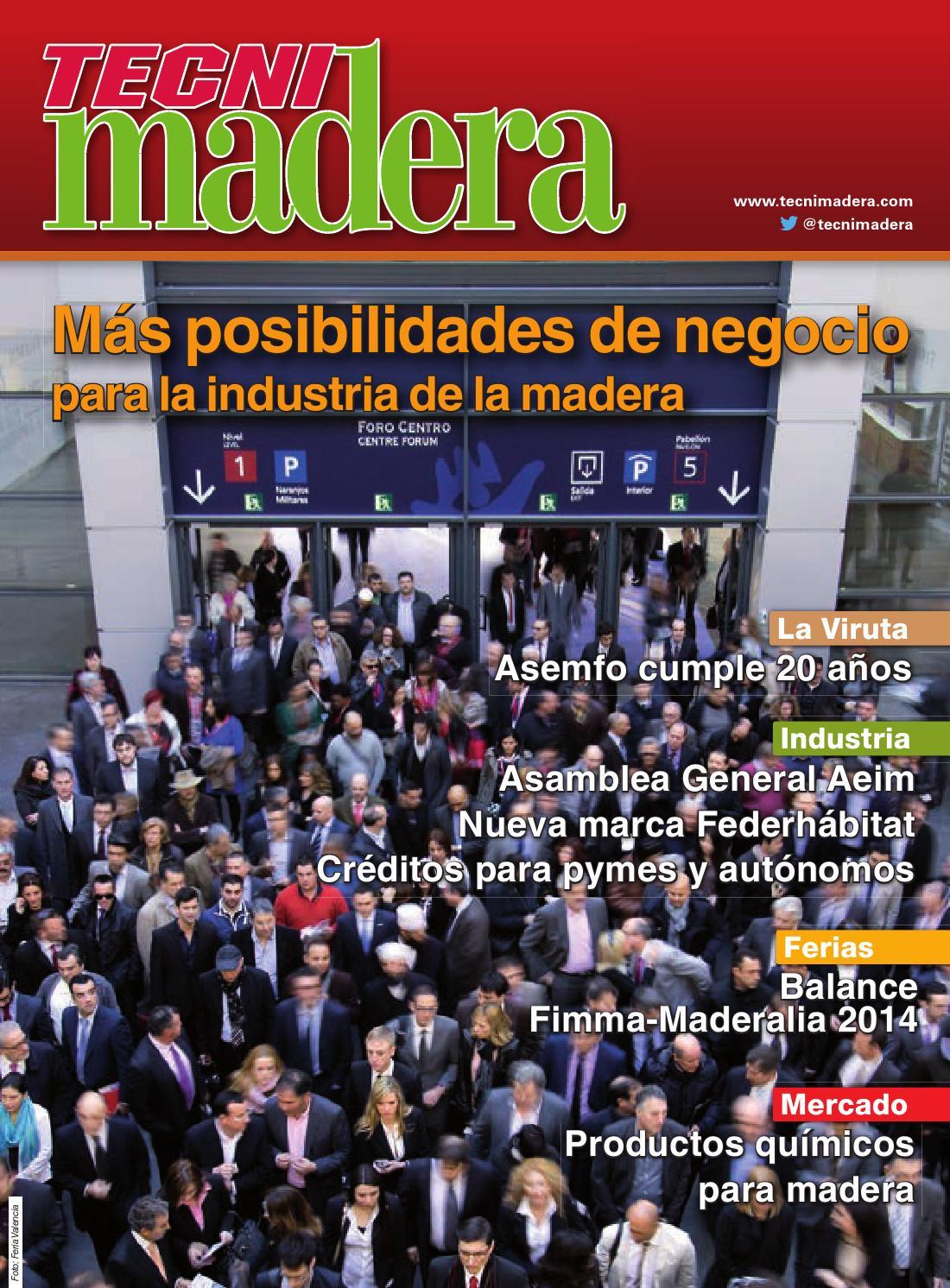 Tecnimadera nº 214 by Digital Newspapers S.L. - issuu