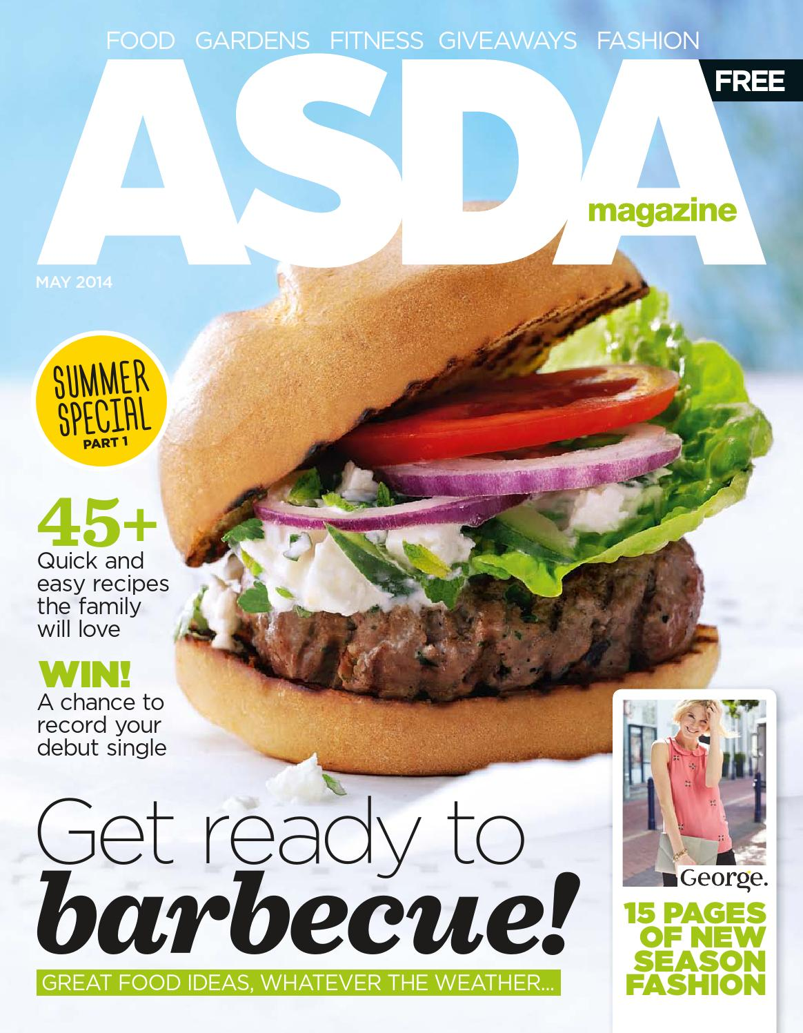 Astounding Asda Magazine May 2014 By Asda Issuu Download Free Architecture Designs Scobabritishbridgeorg
