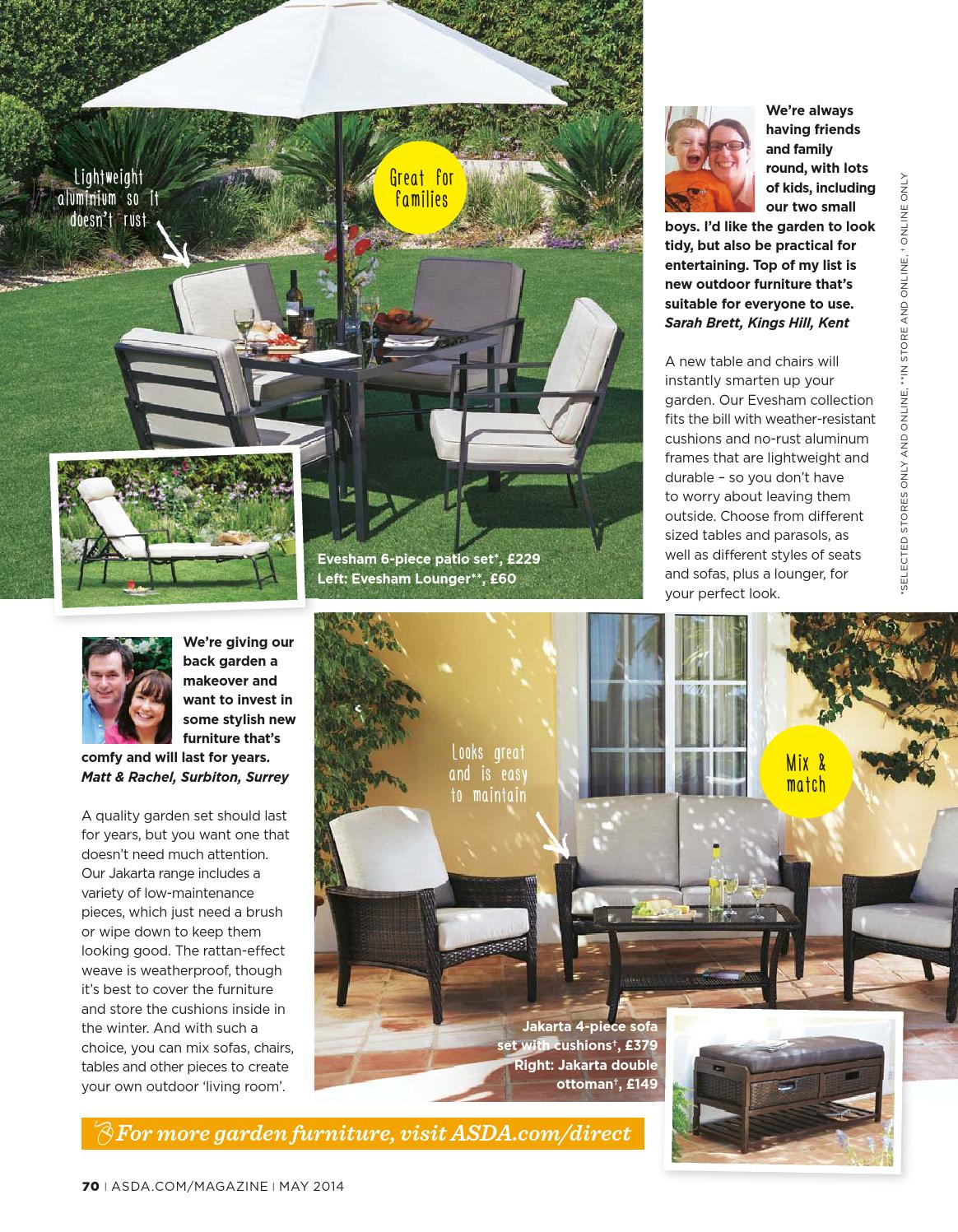 Garden Furniture Jakarta asda magazine - may 2014asda - issuu