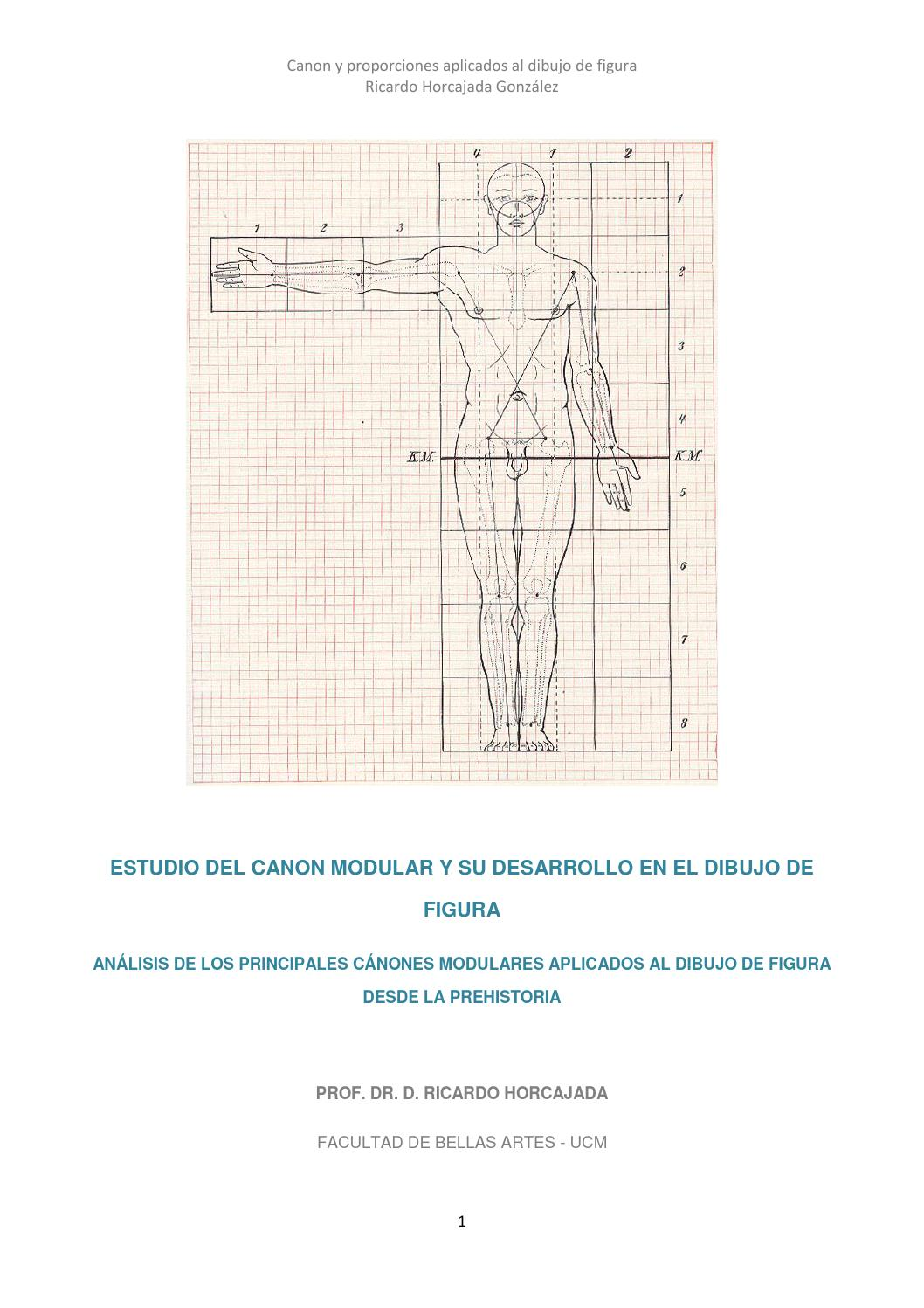 Canon modular y dibujo de figura by ricardo horcajada - issuu