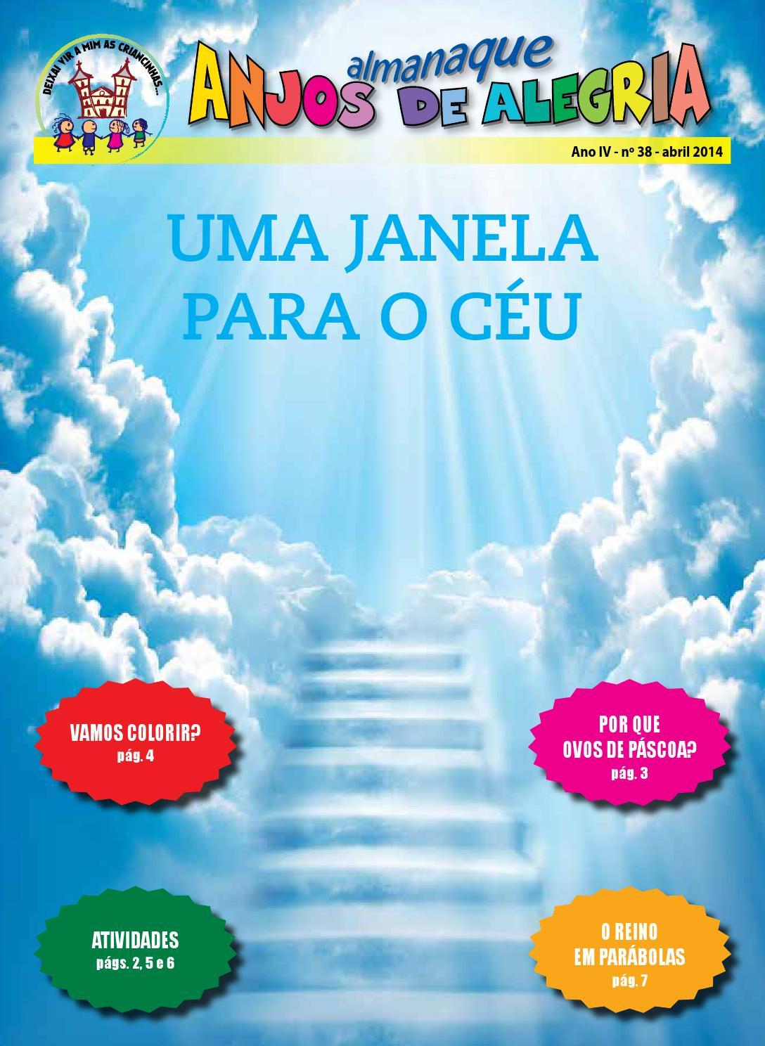 Almanaque Anjos De Alegria Nº 38 Abr 2014 By Santuario Basilica