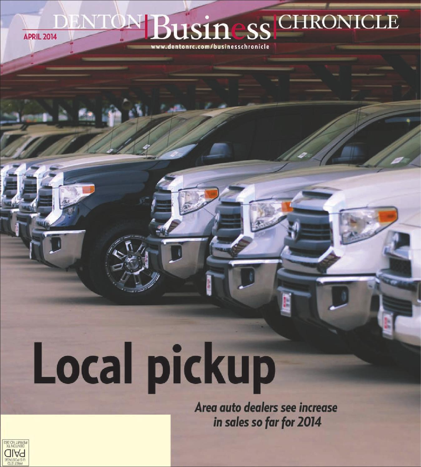 April Denton Business Chronicle 2014 by Larry McBride issuu
