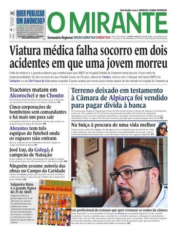 9be4e158a3 Edição 1138 (17-04-2014) Medio do Tejo by Jornal O MIRANTE - issuu