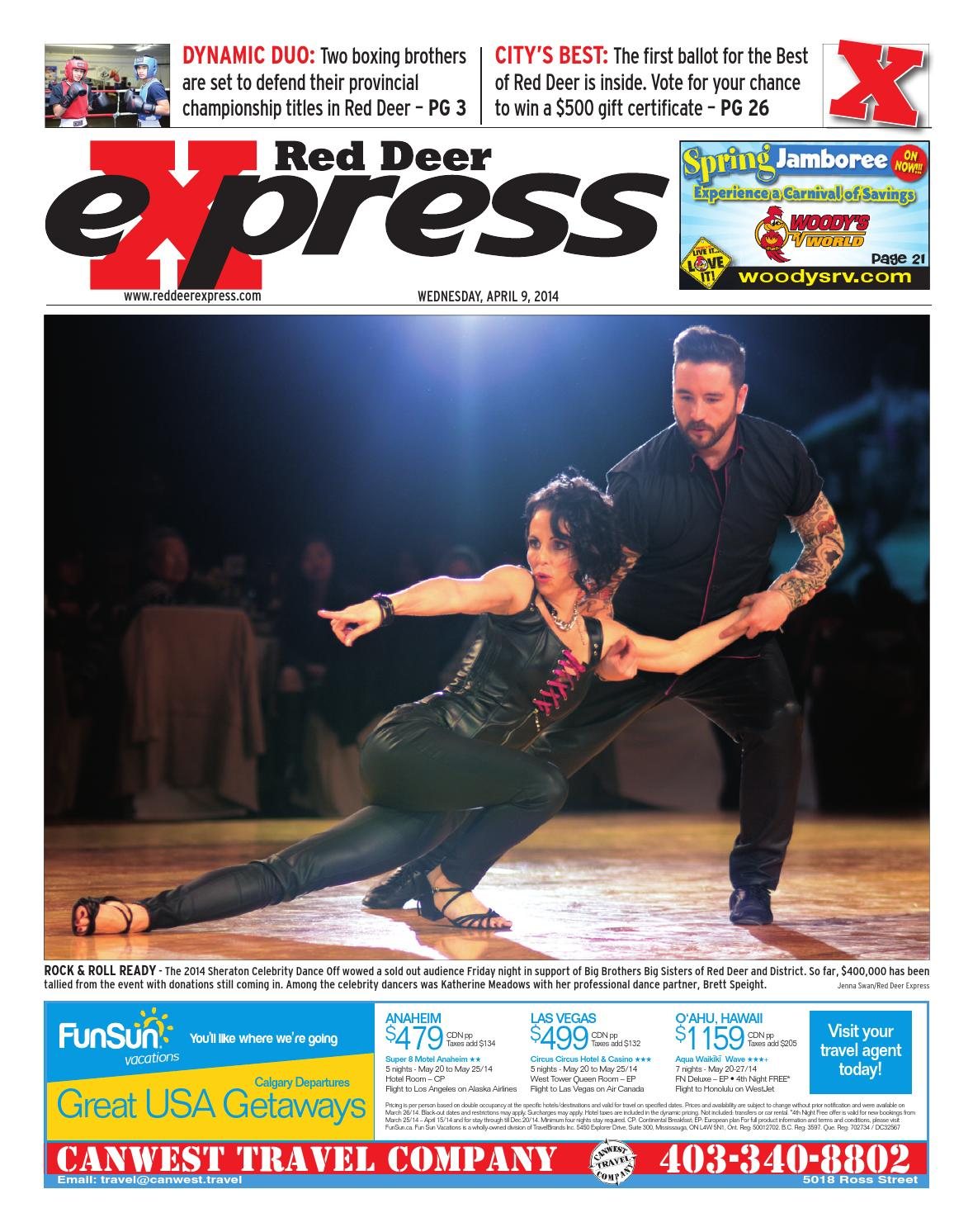 Red Deer Express April 09 2014 By Black Press Media