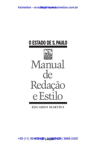 ca354cec836 Manual de red e estilo do estadao by Keimelion - issuu