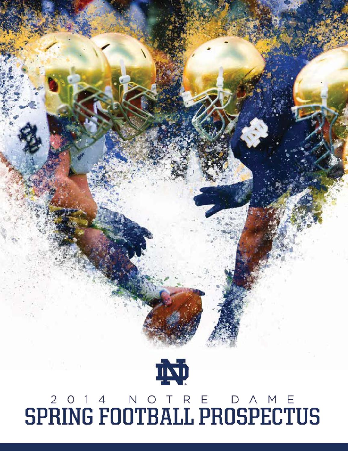 2014 Notre Dame Football Spring Prospectus by Chris Masters - issuu df08a2cd7