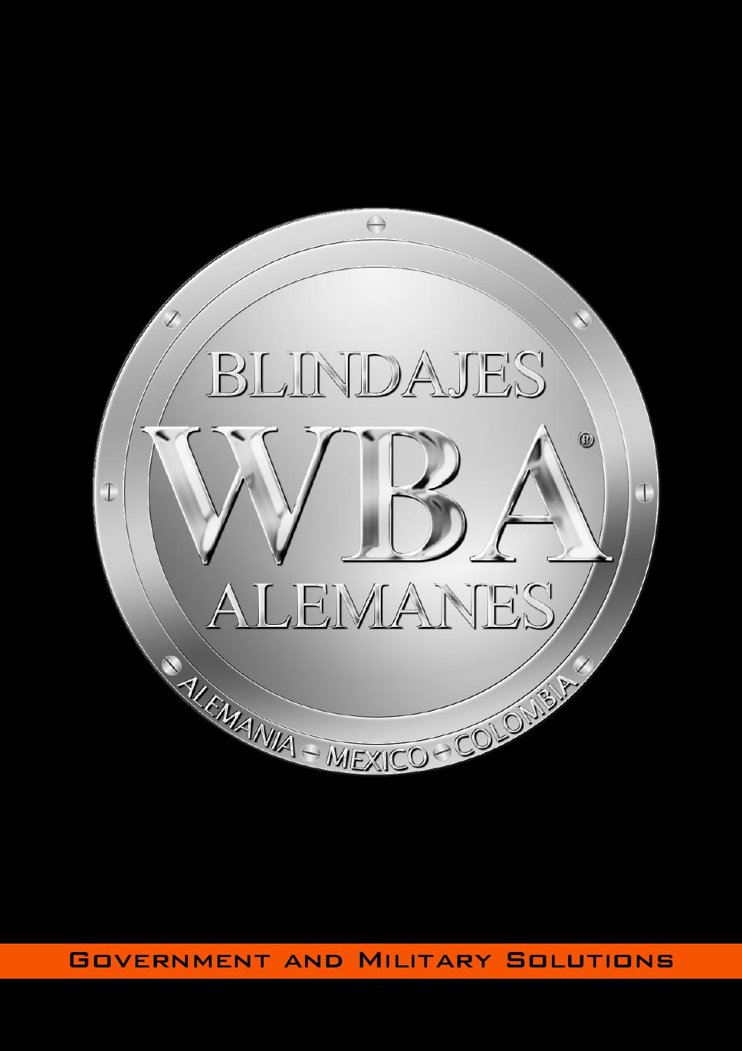 Wba blindajes alemanes catalogo militar y de gob by for Poco reutlingen