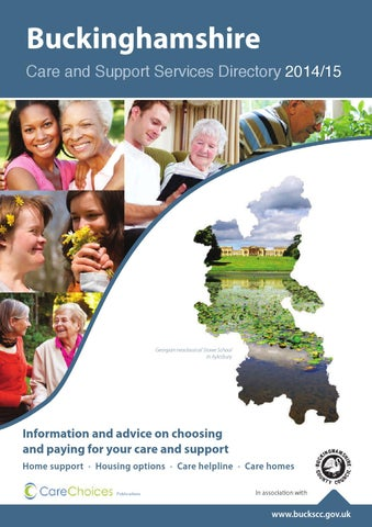 Buckinghamshire Care And Support Services Directory 2014 15