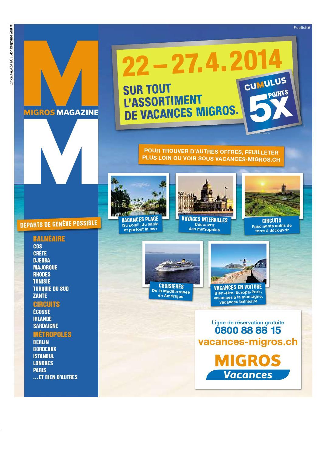 Migros magazin 17 2014 f aa by Migros Genossenschafts Bund