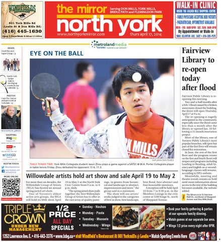 230370bdcd4 April 17 South by The North York Mirror - issuu