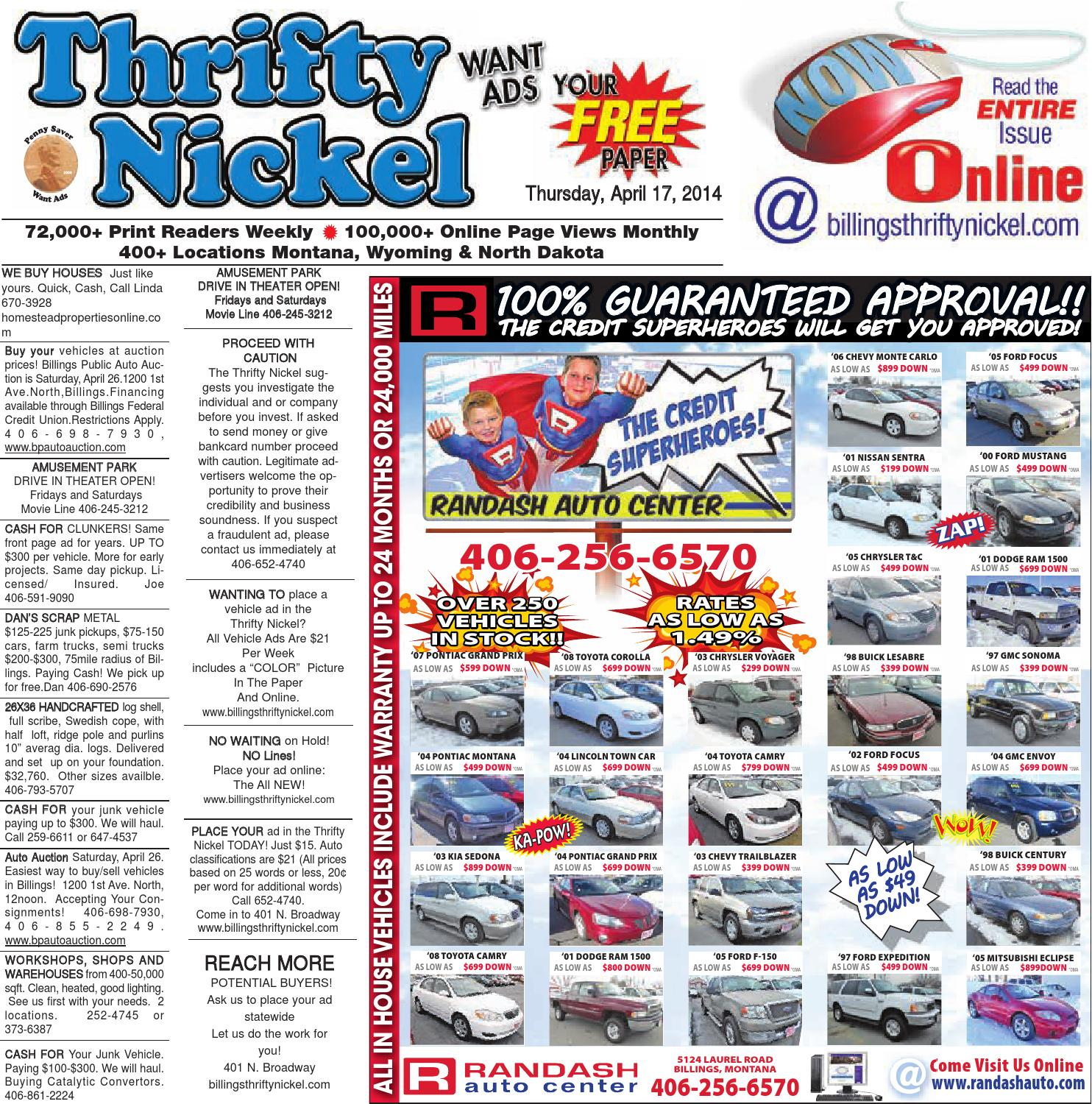 Thrifty Nickel Apr 17 By Billings Gazette Issuu 1974 E2bs Omc Trolling Motor And Adapter Group Diagram Parts