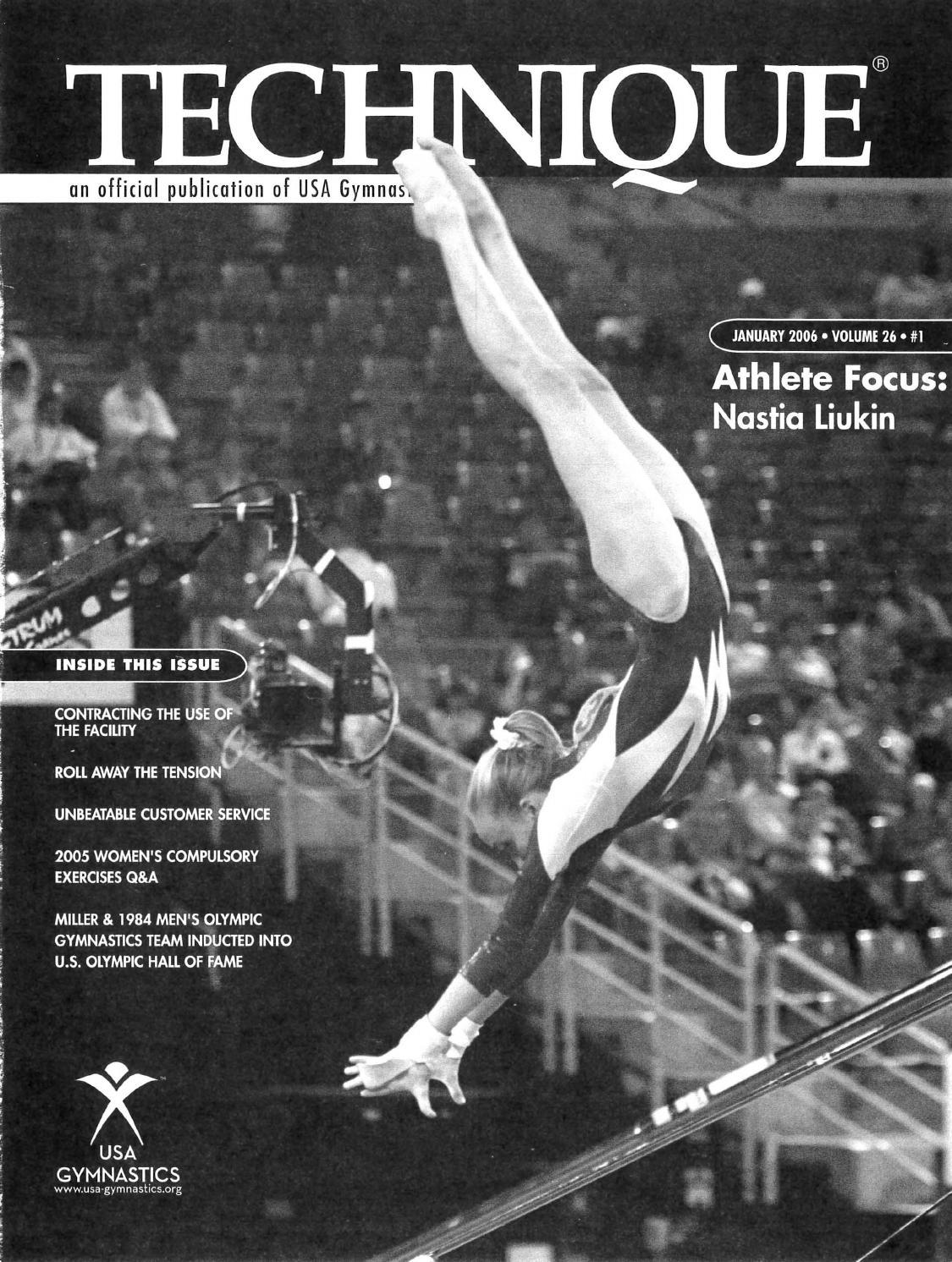 Technique Magazine – January 2006 by USA Gymnastics - issuu