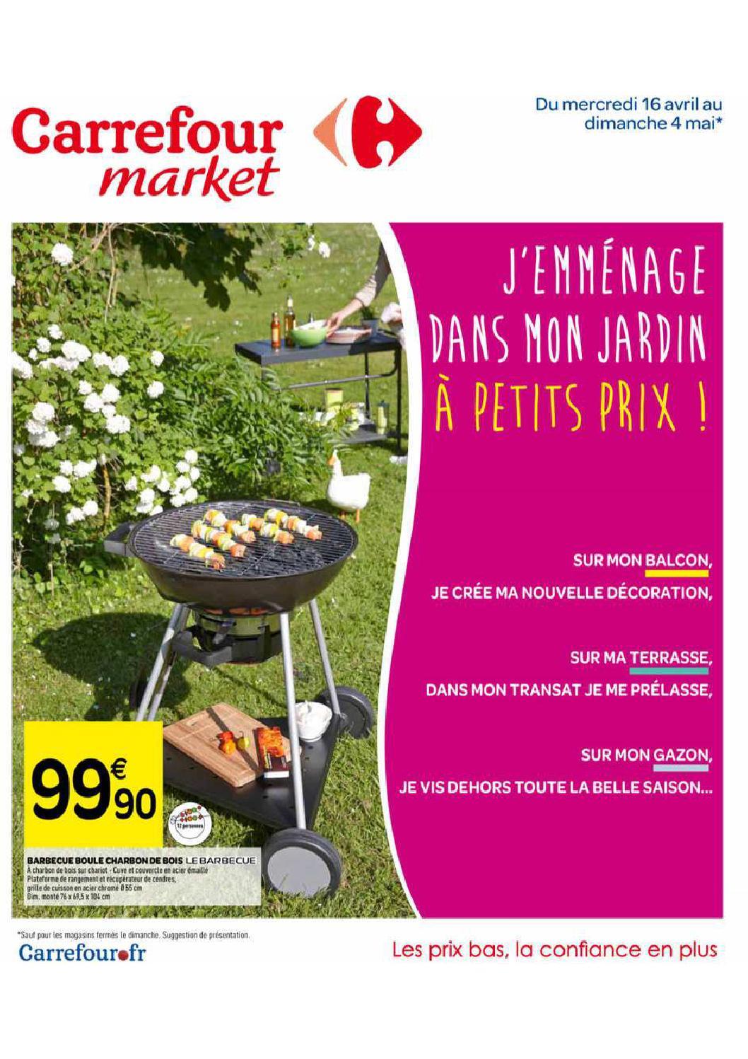 Mon Jardin En Avril catalogue carrefour market du 16 avril au 4 maianti