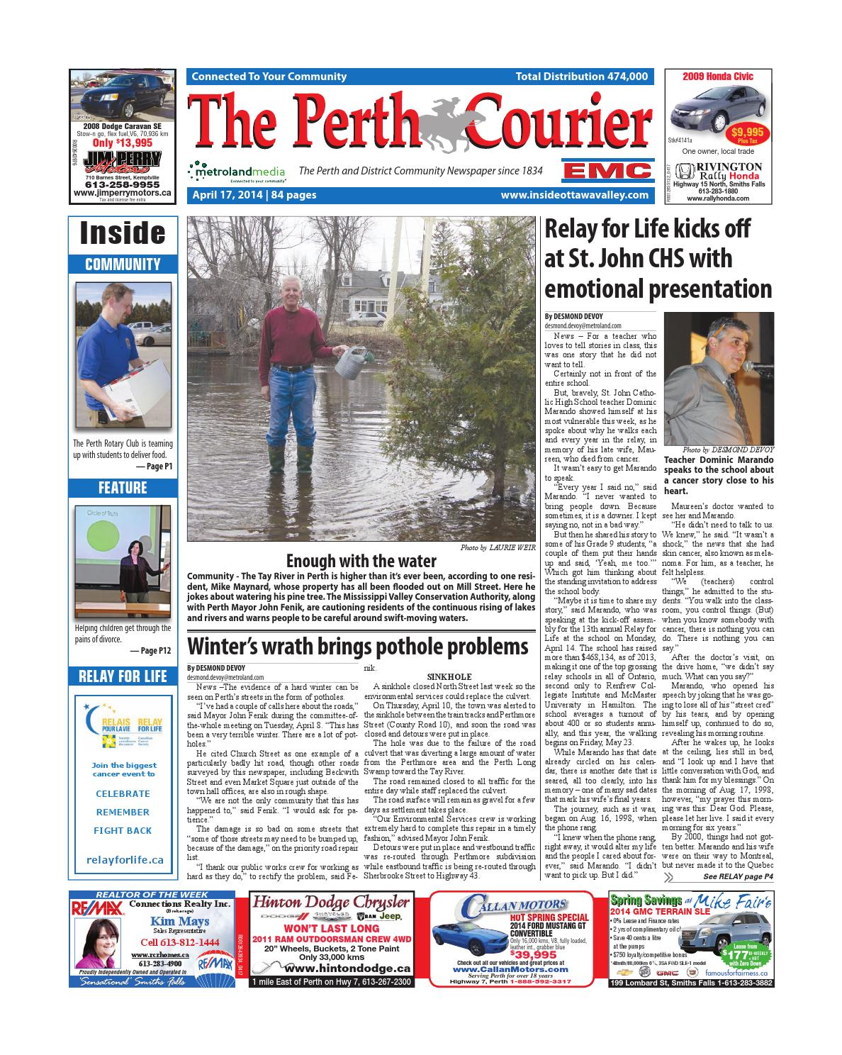 Perth041714 by Metroland East - The Perth Courier - issuu