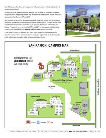 Dvc San Ramon Campus Map Dvc San Ramon Campus Map – Bestinthesw