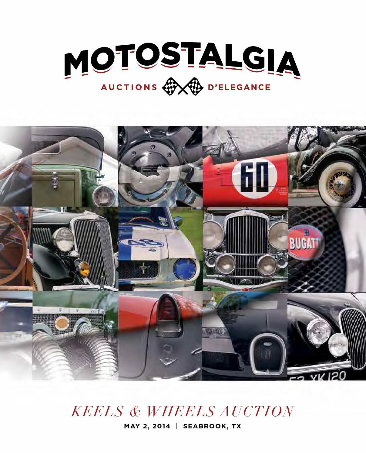 Motostalgia 2014 Keels Wheels Auction Catalog By Issuu Ignition Circuit Diagram For The 1955 Nash 8 Cylinder Ambassador