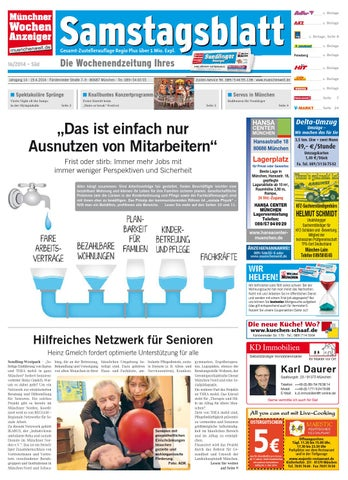 KW 16 2014 by Wochenanzeiger Me n GmbH issuu