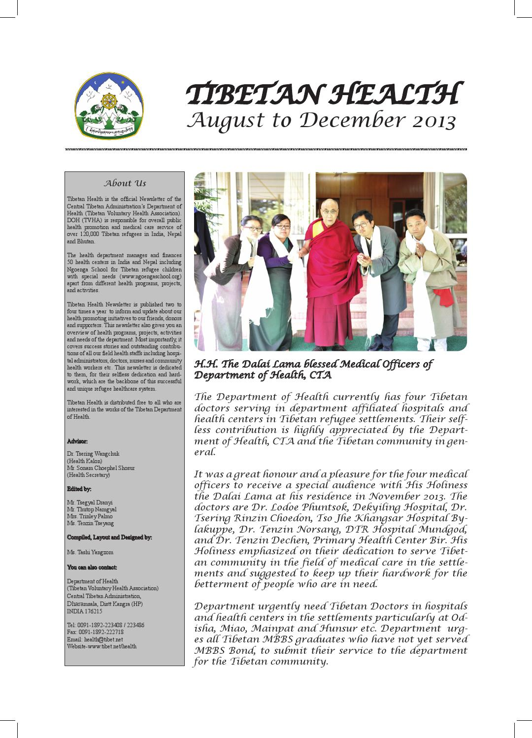 Newsletter Aug December 2013 By TCRC CTA Issuu