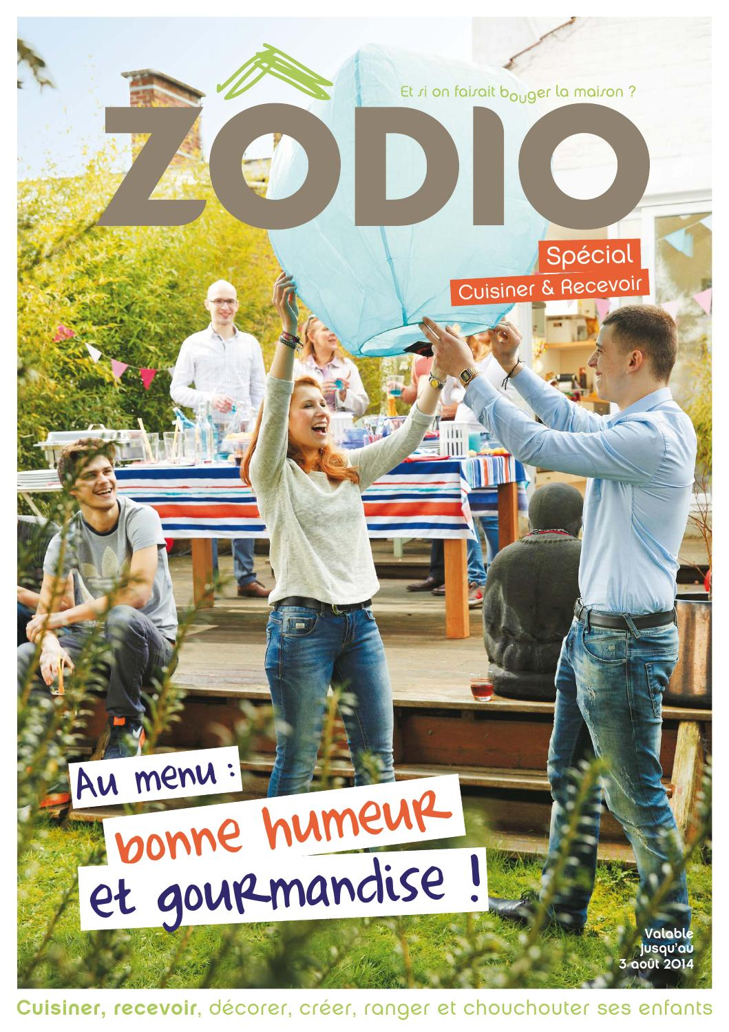 Catalogue zodio jusqu 39 au by joe monroe issuu for Zodio cours cuisine