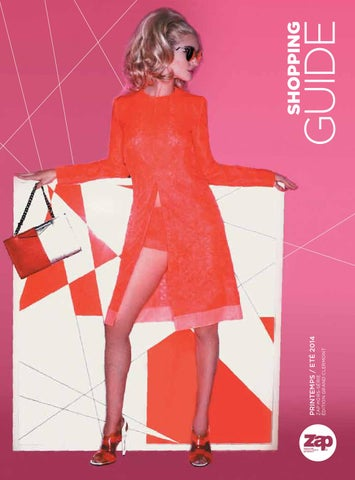 Shopping guide Printemps   Eté 2014 by Zap Editions - issuu 2436bd5e22d