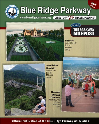 Blue Ridge Parkway Directory & Travel Planner - 65th ...