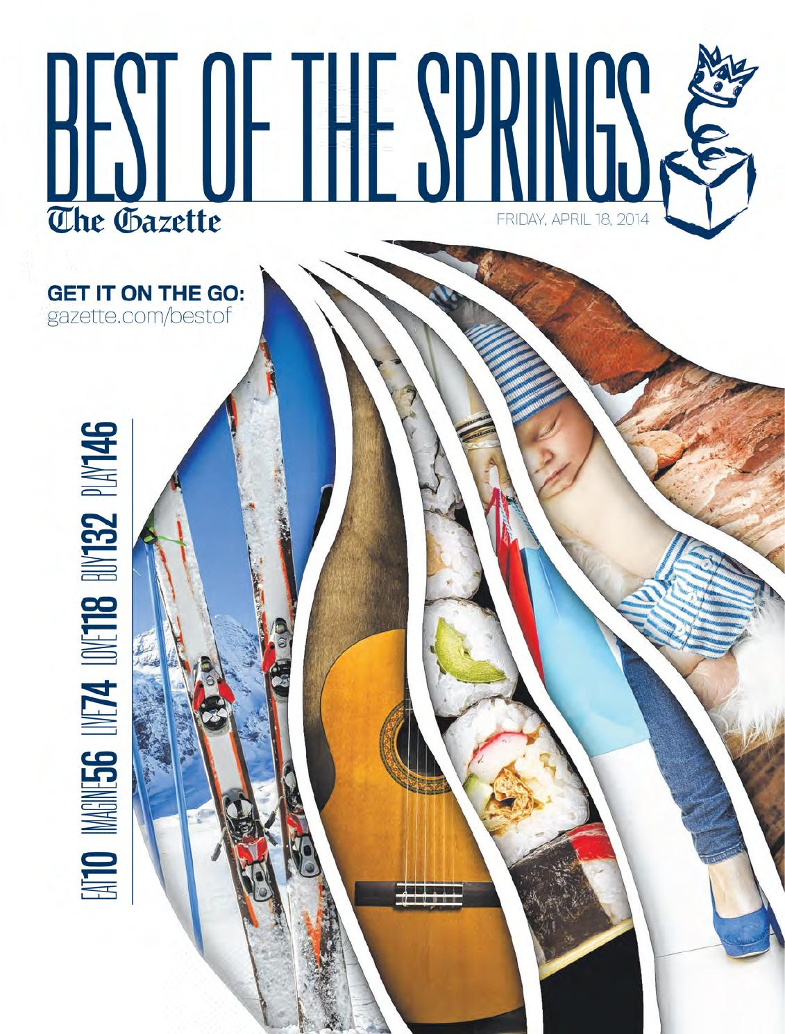 2014 the best of the springs the gazette colorado springs by
