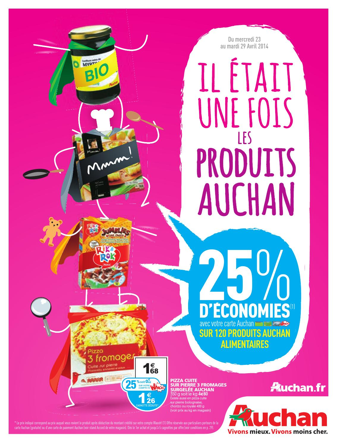 Catalogue Auchan Du 23 Au 29 Avril By Anti Crise Fr Issuu