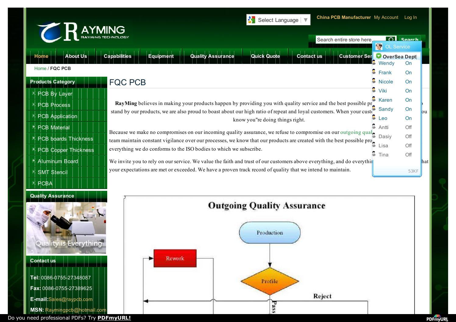 Fqc pcb china pcb,pcb maker,pcb prototyping,pcb protoypes,quick turn