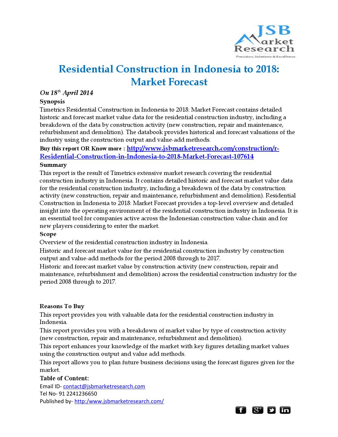 """construction in indonesia to 2018 market Multifamily market trends 2018: what the experts are saying   """"with construction costs going up, the teamwork with the developer, the contractor, the architect, and the interior designer has to be even more intense,"""" said jack boarman, partner, bkv group """"we need to find new ways of manufacturing, like modular baths, and subtrade."""