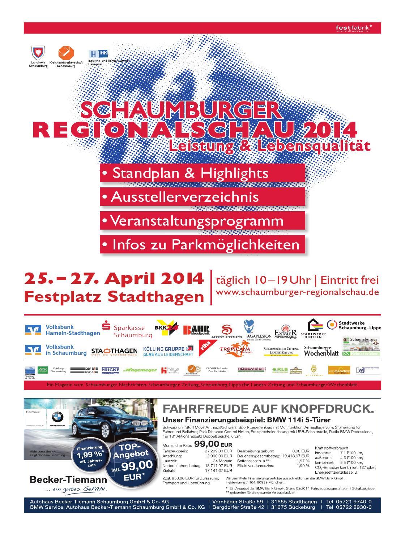 Schaumburger Regionalschau 2014 by Schaumburger Nachrichten ...