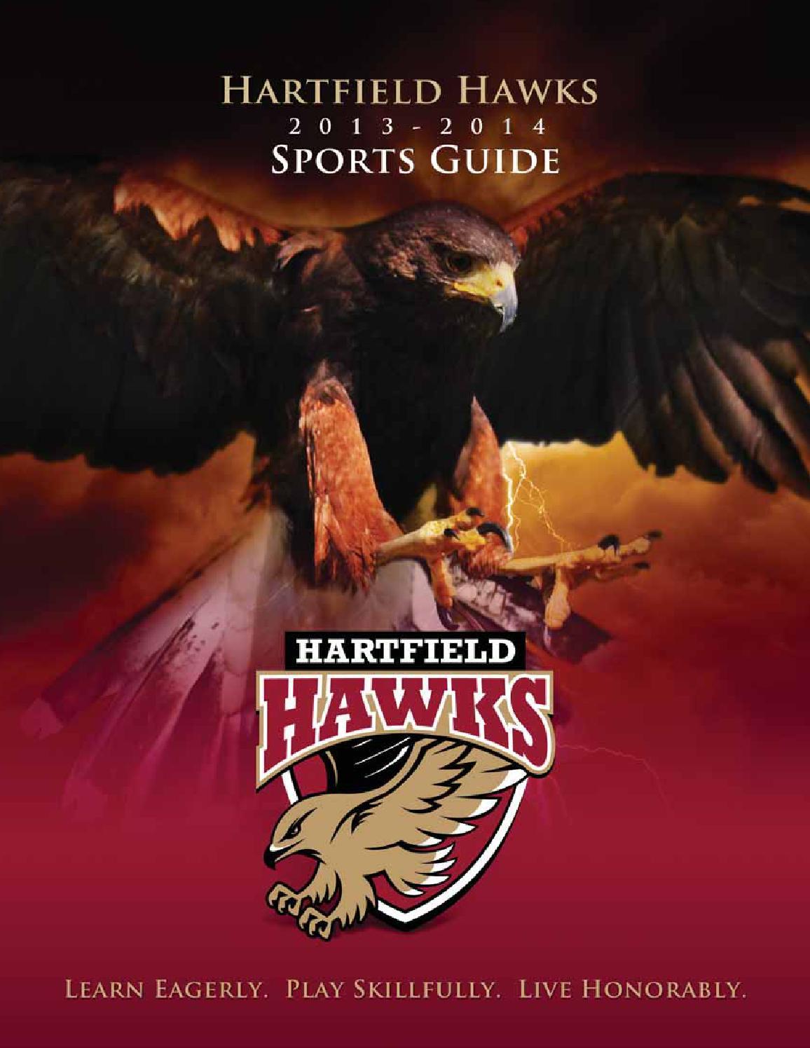 Hartfield Academy Hawks Sports Guide 2013 2014 By