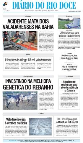 Diário do Rio Doce - Edição 04 02 2014 by Diário do Rio Doce - issuu 3575f12339