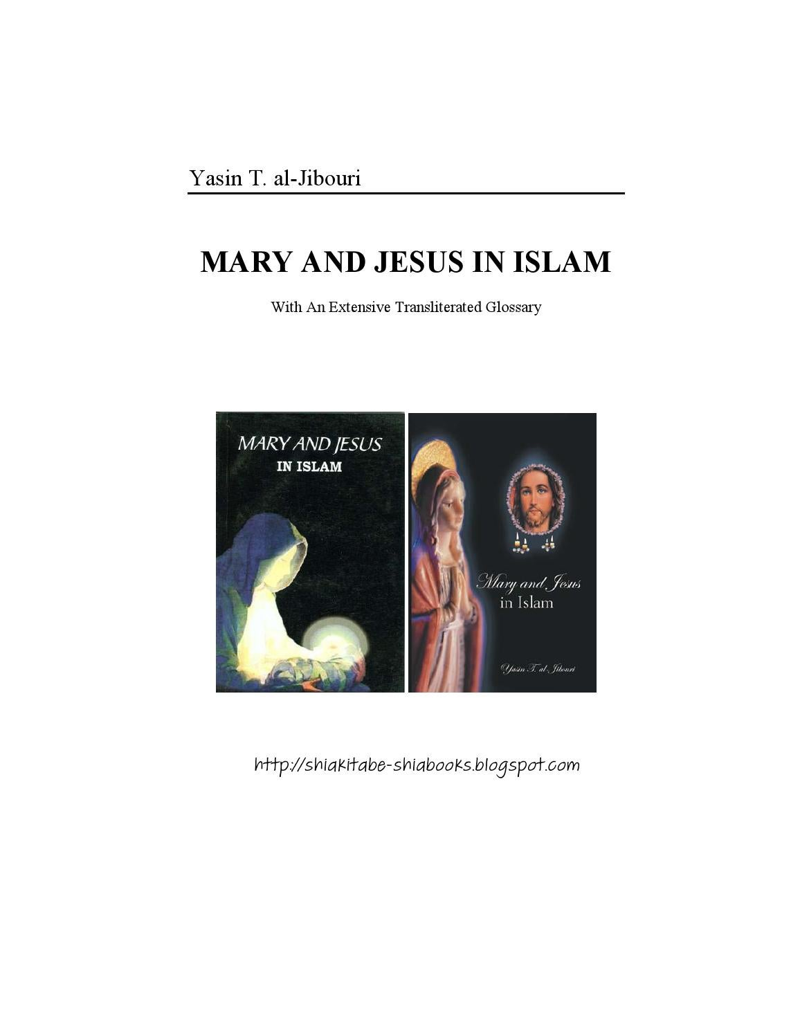 17c188bb0 Mary and Jesus in Islam Yasin T Al Jibouri by Syed Naqvi - issuu